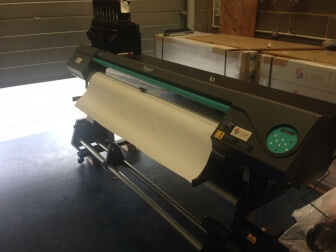Roland RT-640 sublimation printer