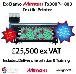 Ex Demo Mimaki TX300P