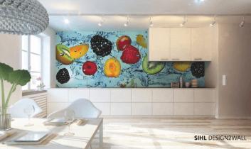 Prepasted systexx glass-fibre design 2 wall latex 280 matt