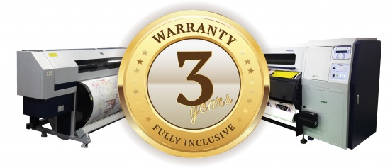 DGI 3 year warranty badge