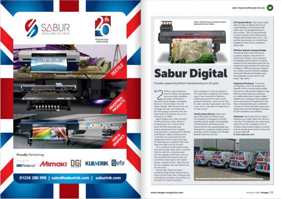 Sabur Images magazine August 18