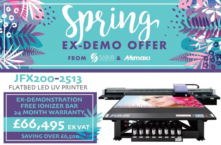 Ex demo Mimaki JFX200 UV printer