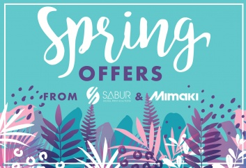 Mimaki spring offers