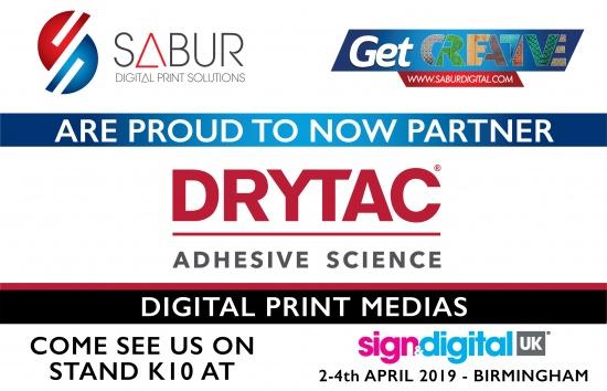 Now Partnering Drytac