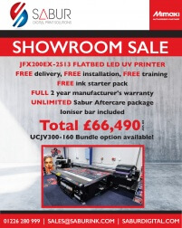 Mimaki JFX200 showroom
